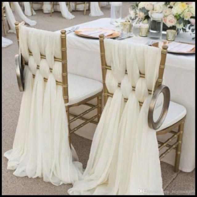 Wedding Diy Decorations High Quality Chiffon Diy Wedding Decorations Simple Chair Cover 2018 Bridal Wedding Covers Classic Wedding Supplies