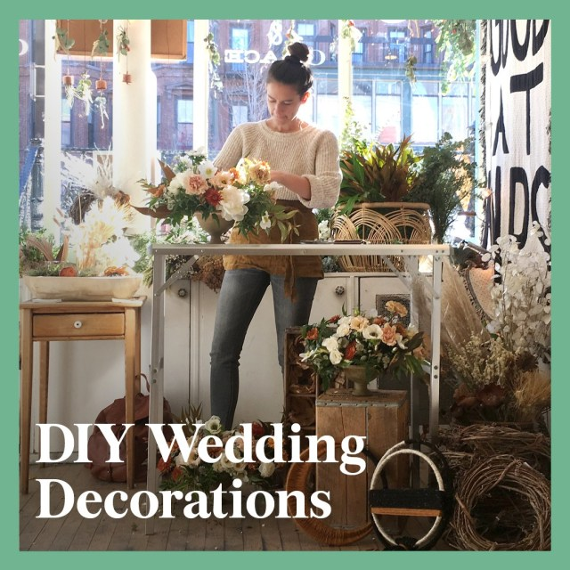 Wedding Dyi Decorations 13 Diy Wedding Decorations For The Ceremony And Reception Brides