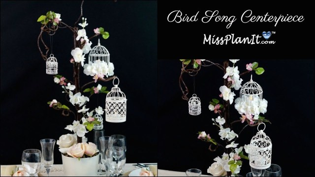 Wedding Dyi Decorations Diy Bird Cage Wedding Or Quinceanera Centerpiece Diy Wedding