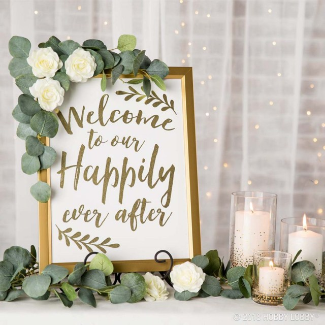 Wedding Dyi Decorations Stylish Wedding Details For The Diy Bride Hob Lob Blog