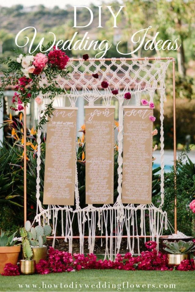 Wedding Dyi Ideas Diy Dreamy Diy Wedding Ideas 2726142 Weddbook