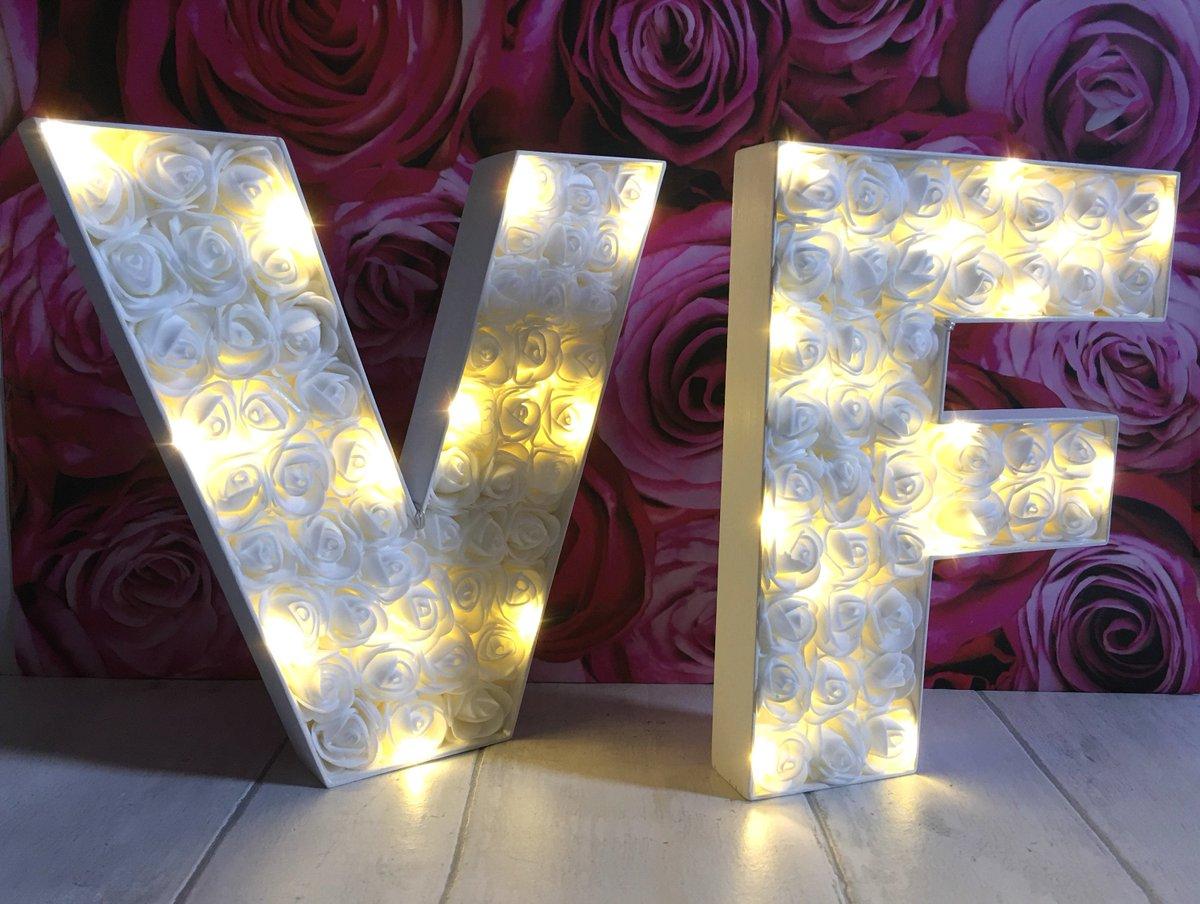 Wedding Initial Decor Lovelettersanalisa On Twitter Light Up Letter V Barn Wedding