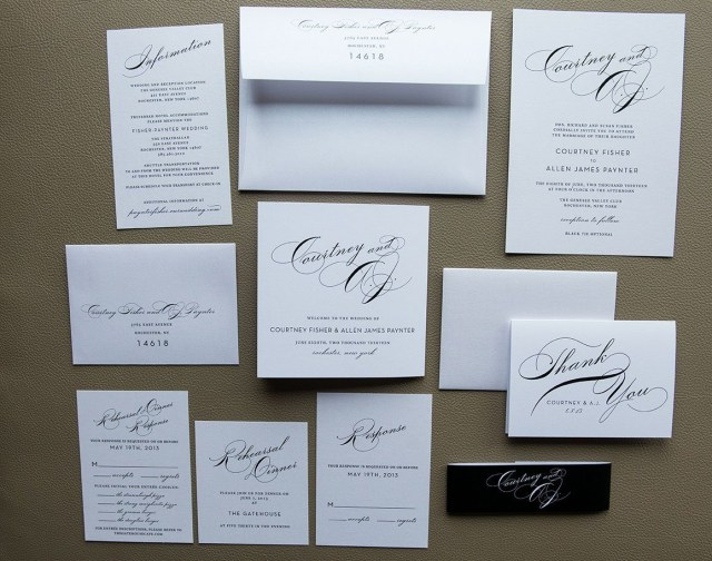 Wedding Invitation Bundles Simple Wedding Invitation Package With Tammy Swales Photography