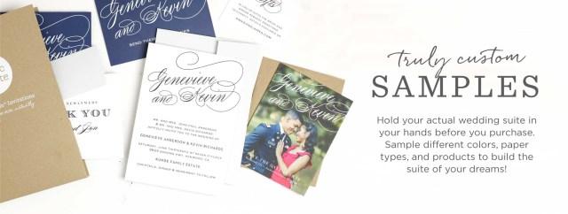 Wedding Invitation Example Custom Sample