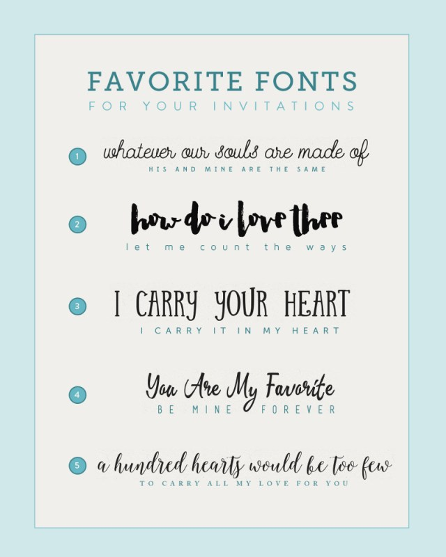 Wedding Invitation Font Fonts For Diy Wedding Invitations The Budget Savvy Bride