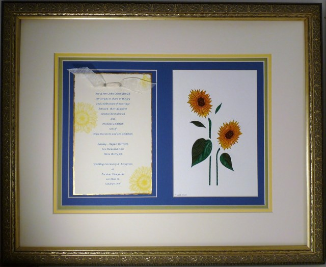 Wedding Invitation Keepsake Quilling Sandra White Wedding Invitation Keepsakes