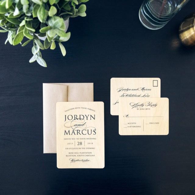 Wedding Invitation Keepsake Wood Wedding Invites Are A Great Keepsake For Your Wedding Day
