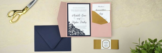 Wedding Invitation Pockets Wedding Invitations Cards Pockets