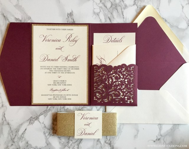 Wedding Invitation Pockets Wedding Pocket Invitations Wedding Pocket Invitations Also Have
