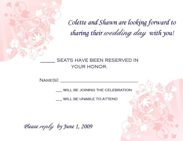 Wedding Invitation Rsvp Wording 206242 Wedding Invitation Rsvp Wording Samples Fresh Sample