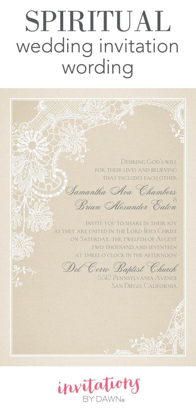 Wedding Invitation Text Spiritual Wedding Invitation Wording Invitations Dawn