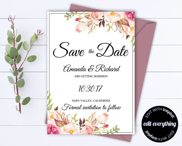 Wedding Invitations And Save The Dates Accacfecf Elegant Save The Date Invitations Templates