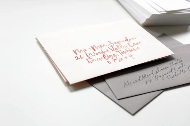 Wedding Invitations Envelopes Intro To Wedding Invitation Calligraphy Artifact Uprising