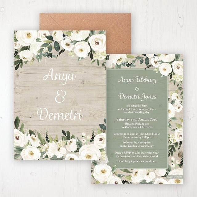 Wedding Invitations Essex Forrester Green Wedding Invitations Sarah Wants Stationery