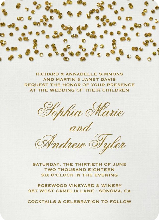 Wedding Invitations Gold 19 Glittery Wedding Stationery Ideas Hitchedcouk