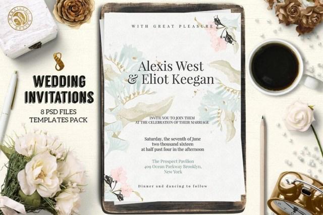 Wedding Invitations Samples 50 Wonderful Wedding Invitation Card Design Samples Design Shack