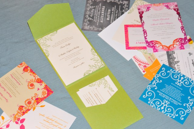 Wedding Invitations Wedding Paper Divas The Wedding Paper Divas Samples Are Here