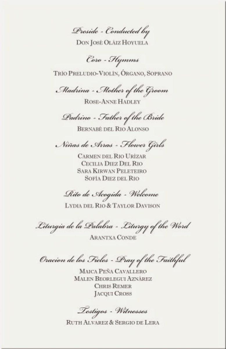 Wedding Invitations Wording Samples Catholic Wedding