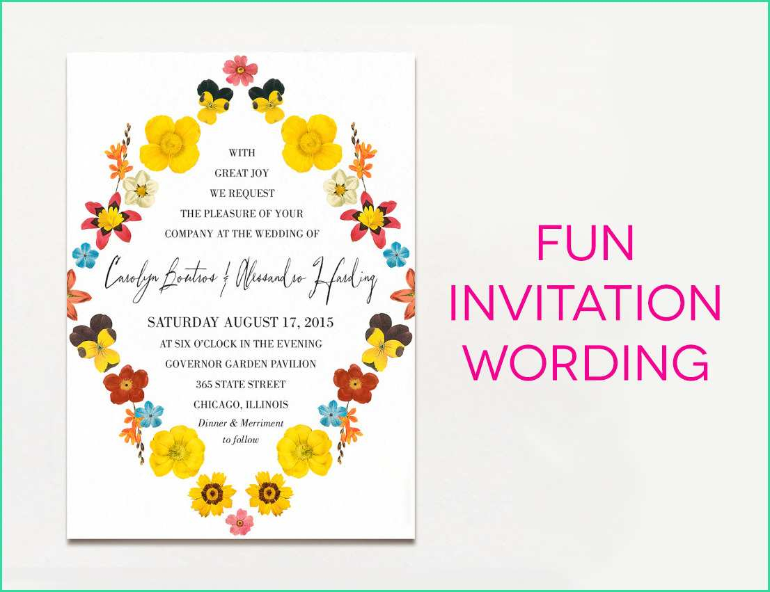Wedding Invitations Wording Samples Useful Wedding Invitation Wording Templates With 15 Wedding