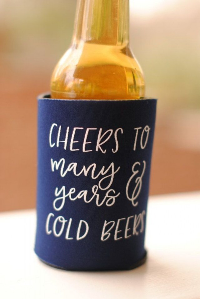 Totally Wedding Koozies.Awesome Photo Of Wedding Koozie Ideas Regiosfera Com