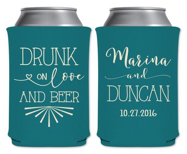 Wedding Koozie Ideas Wedding Beer Koozies Sayings Pics Photos Functional And Funny Beer