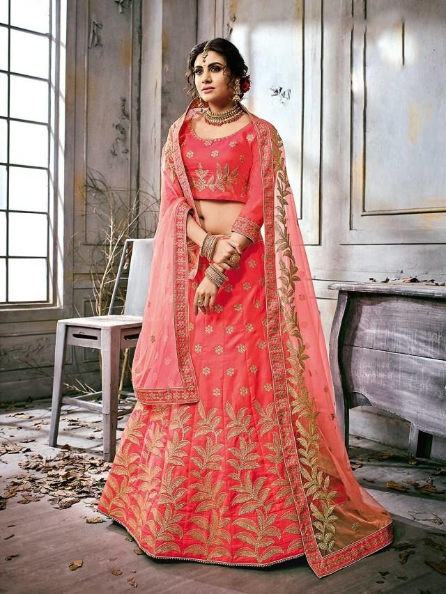 Wedding Lehengas Bridal Buy Latest Pink Designer Wedding Lehenga For Women Online Bridal