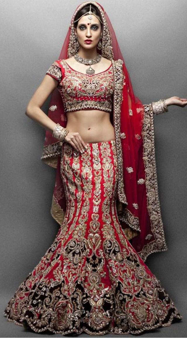 Wedding Lehengas Bridal Designer Red Heavy Work Indian Wedding Dress Bridal Lehenga