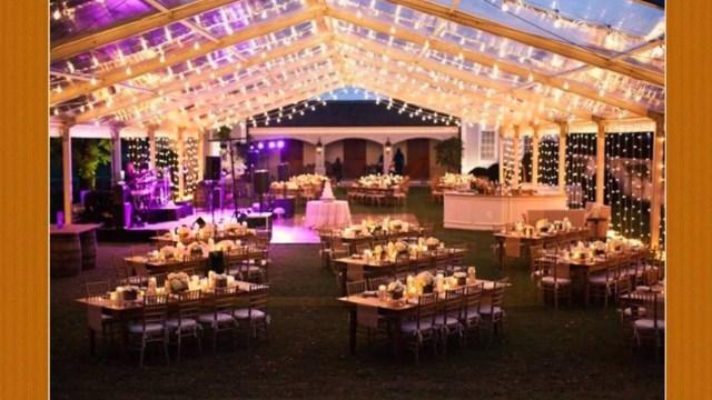 Wedding Lighting Ideas Wedding Tents With Lights Youtube