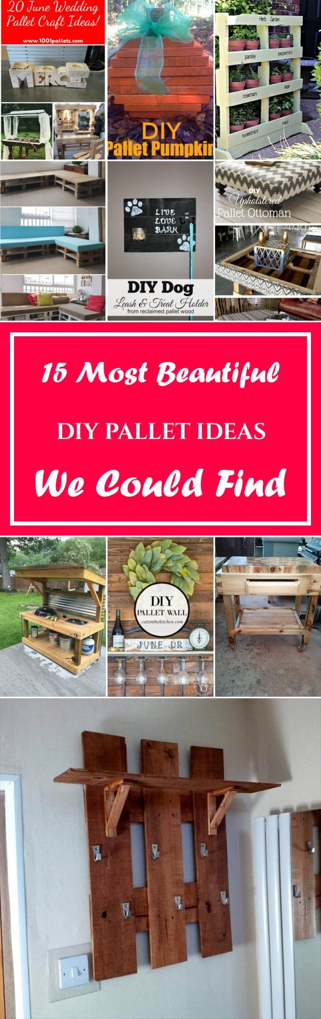 Wedding Pallet Ideas 15 Most Beautiful Diy Pallet Ideas We Could Find Listvi