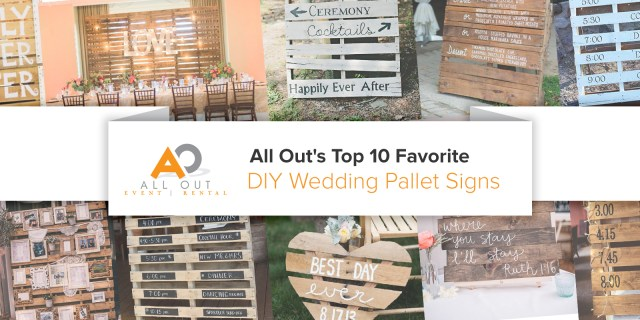 Wedding Pallet Ideas All Outs Top 10 Favorite Diy Wedding Pallet Signs All Out Event
