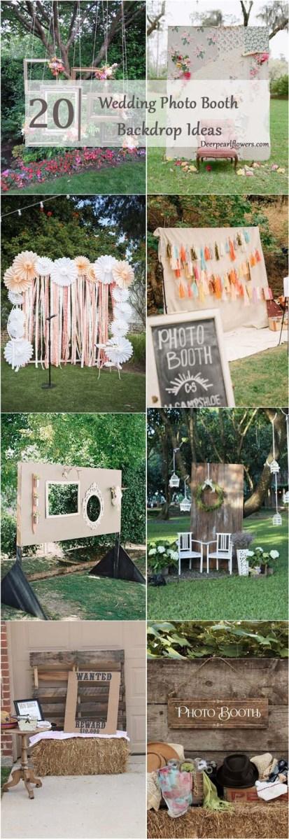 Wedding Photobooth Diy 20 Brilliant Wedding Photo Booth Ideas Deer Pearl Flowers