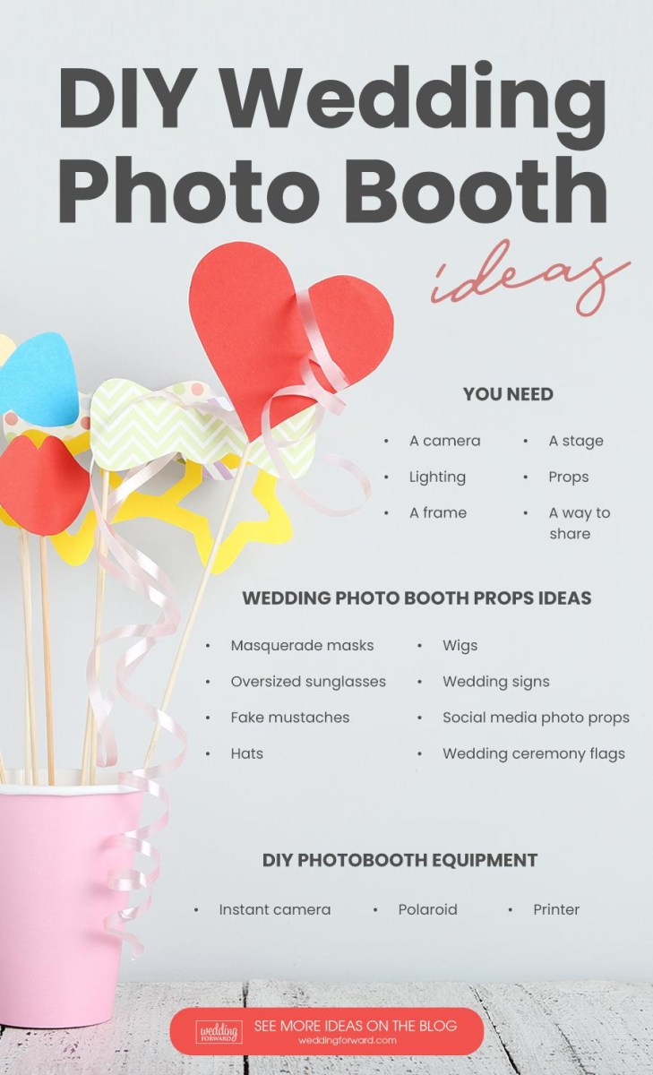 Wedding Photobooth Diy Diy Photo Booth Best Tips For Creating Yours Wedding Forward