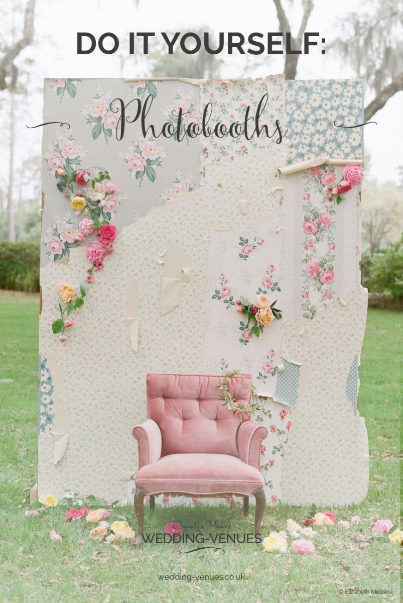 Wedding Photobooth Diy Diy Photo Booths To Suit Any Wedding Chwv