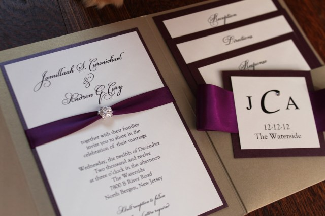 Wedding Pocket Invitations Wedding Pocket Invitations Wedding Pocket Invitations With The
