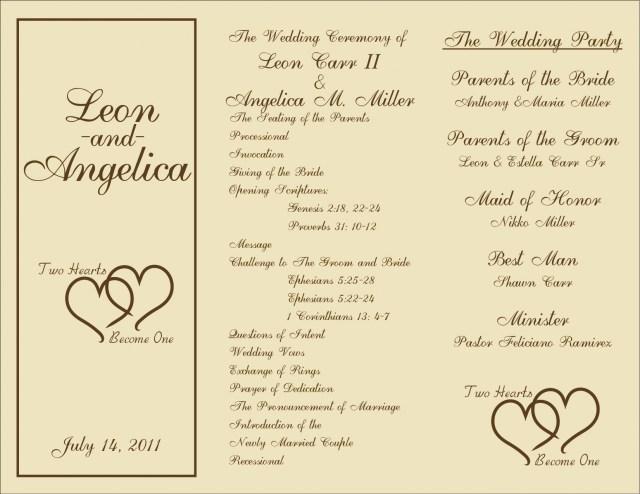 Wedding Program Ideas 009 Template Ideas Wedding Program Templates Free Download