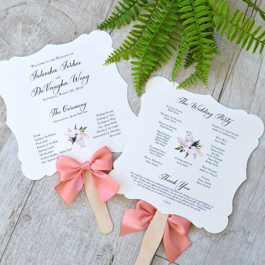 Wedding Program Ideas 9 Creative Destination Wedding Program Ideas Destination Wedding