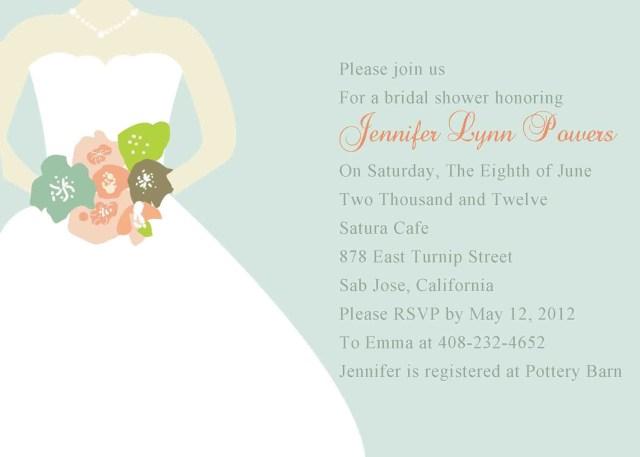 Wedding Shower Invitation Bridal Shower Invitation Wording Adults Only Bridal Shower