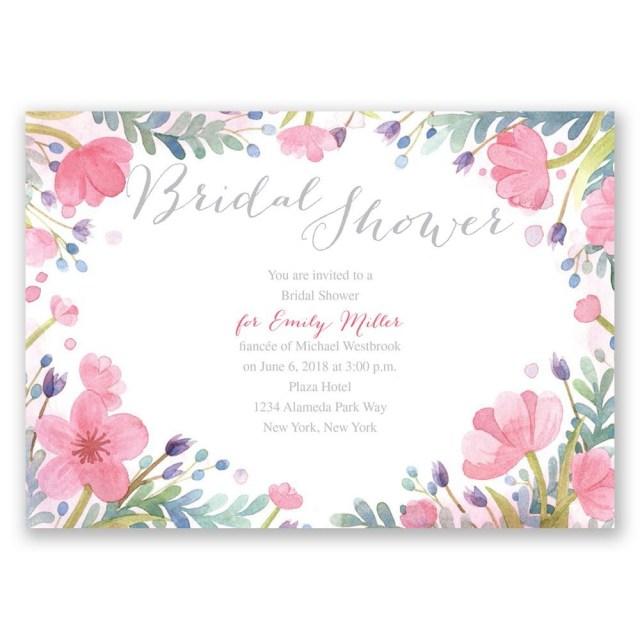 Wedding Shower Invitation Pastel Floral Bridal Shower Invitation Invitations Dawn