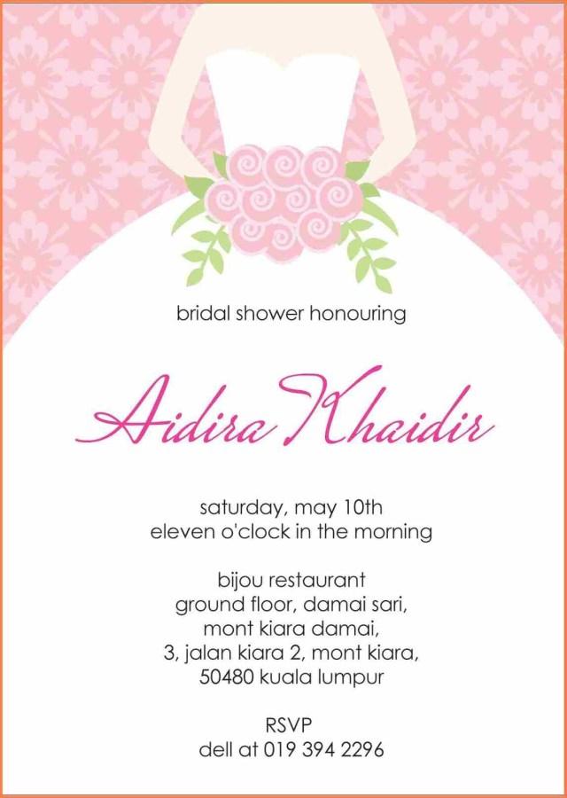 Wedding Shower Invitations Wording 15 Wedding Shower Invitation Wording Sample Paystub