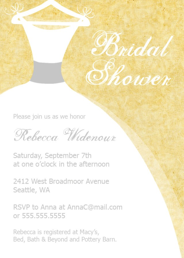 Wedding Shower Invite Bear River Photo Greetings Bridal Shower Invitations