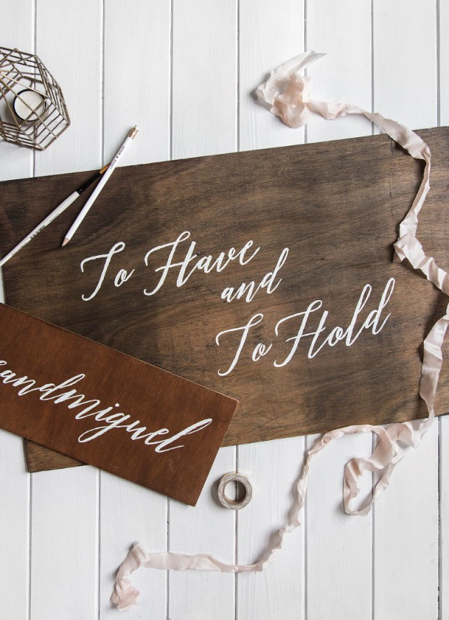 Wedding Signs Diy Diy Wooden Wedding Signs Wishwishwish