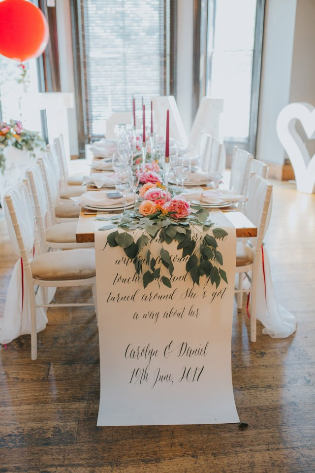 Wedding Styling Ideas Alternative Bright Wedding Styling With Pops Of Colour From The