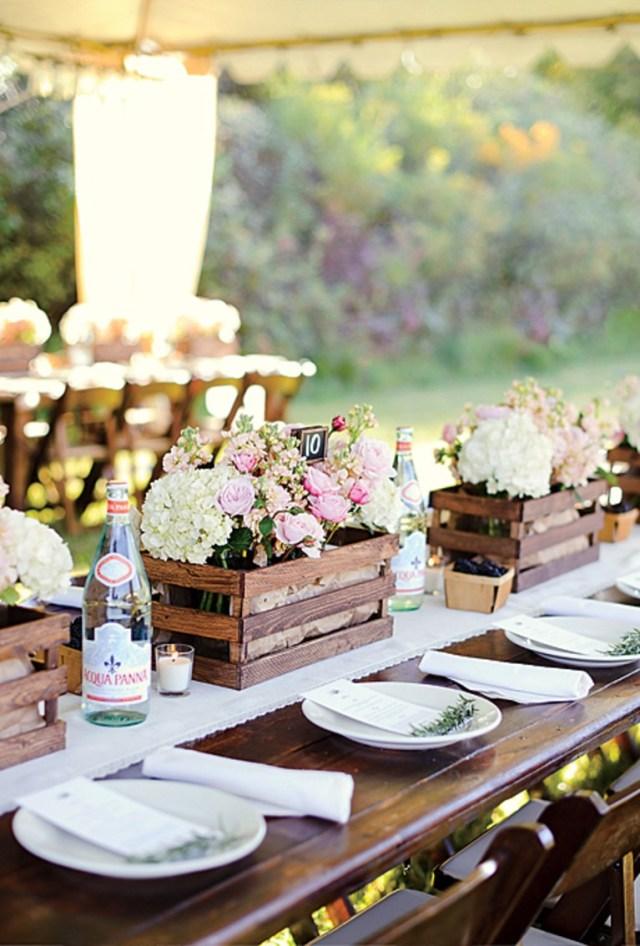 Wedding Table Ideas Vineyard Wedding Table Decor Brides