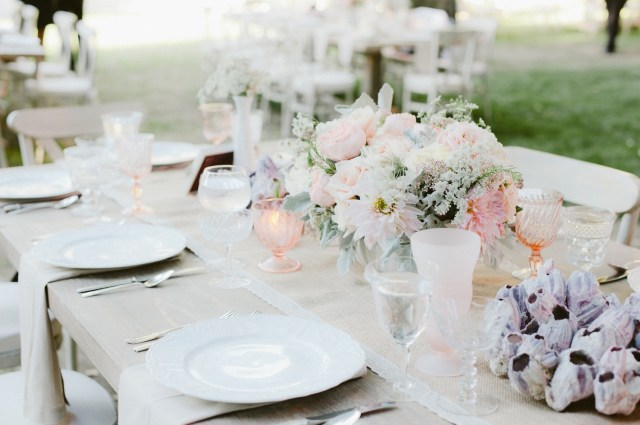 Wedding Tablescapes Ideas Wedding Reception Ideas Colorful Drinkware And Glassware Inside