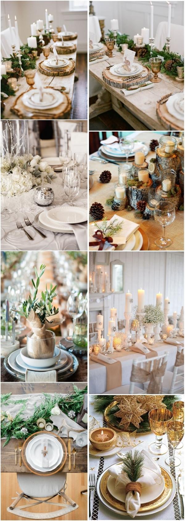 Winter Wedding Decorations 30 Spectacular Winter Wedding Table Setting Ideas Deer Pearl Flowers