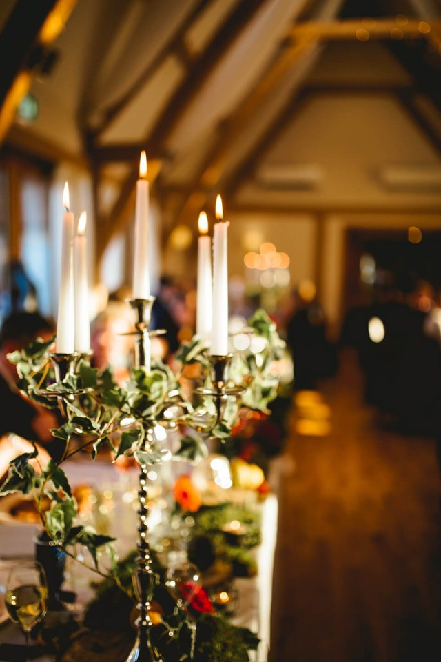 Winter Wedding Decorations Winter Wedding Bassmead Manor Barns