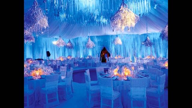 Winter Wedding Decorations Wonderful Winter Wonderland Wedding Decorations