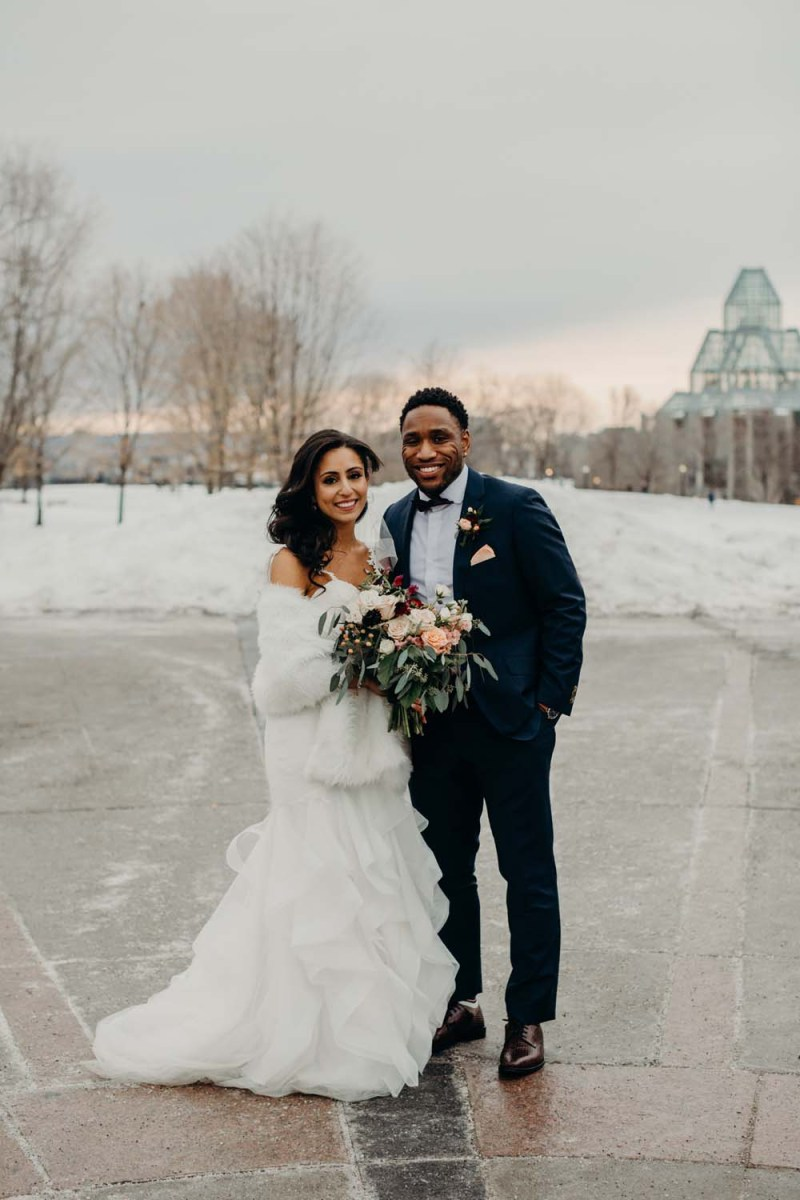 Winter Wedding Diy A Diy Winter Wedding In Ottawa Weddingbells