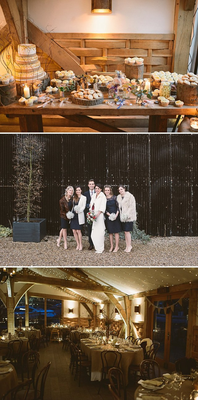 Winter Wedding Diy A Rustic Winter Wedding At Cripps Barn With Diy Home Made Decor And