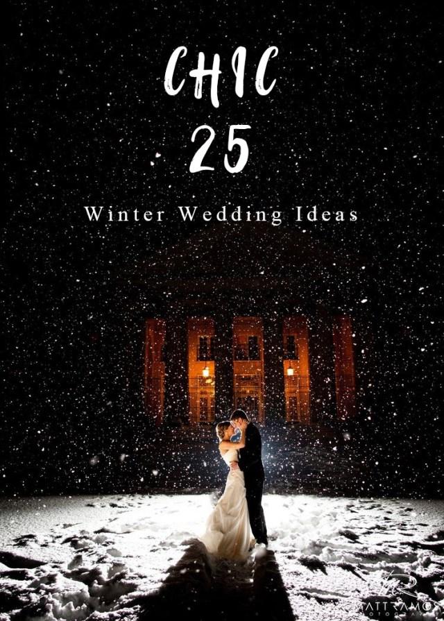Winter Wedding Ideas 25 Creative Winter Wedding Ideas That Are Not Christmas Overloaded